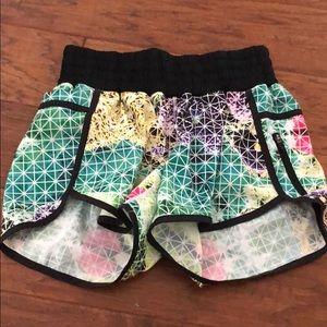 Lululemon Rainbow shorts
